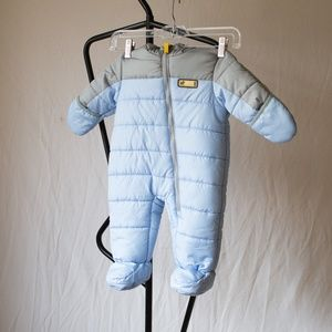 Carter's Boys Bunting Snowsuit Size 3-6 Month
